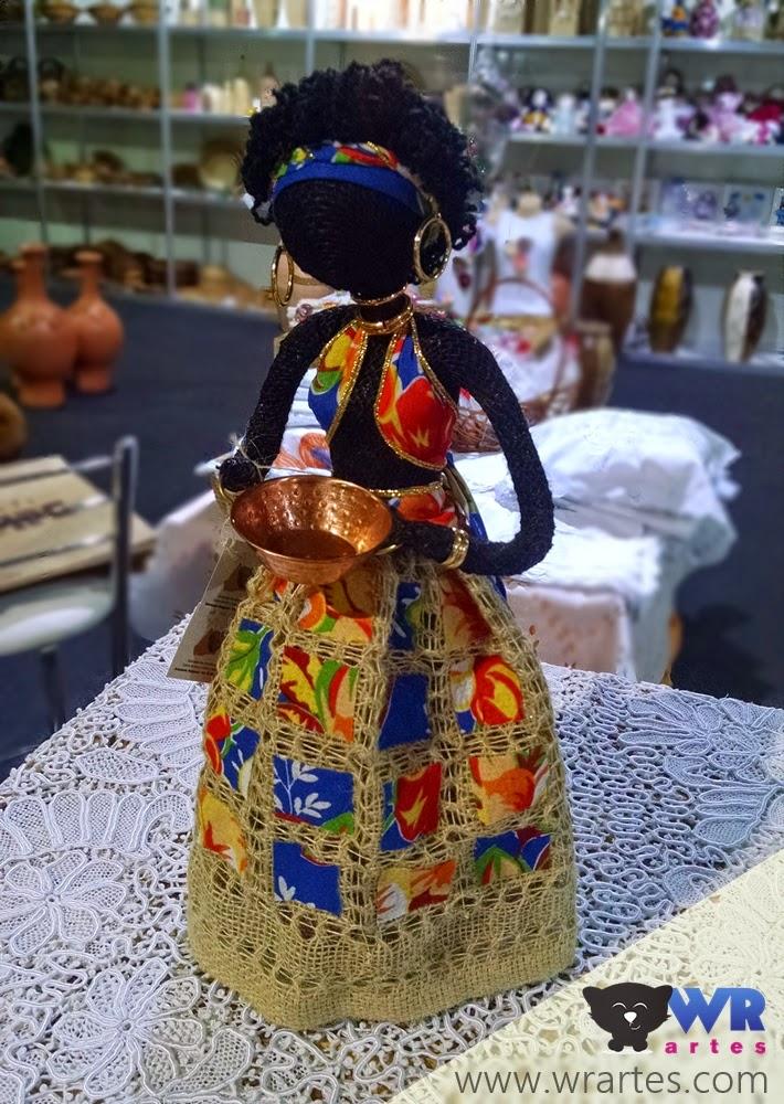 Boneca de pano - Mãos do Brasil