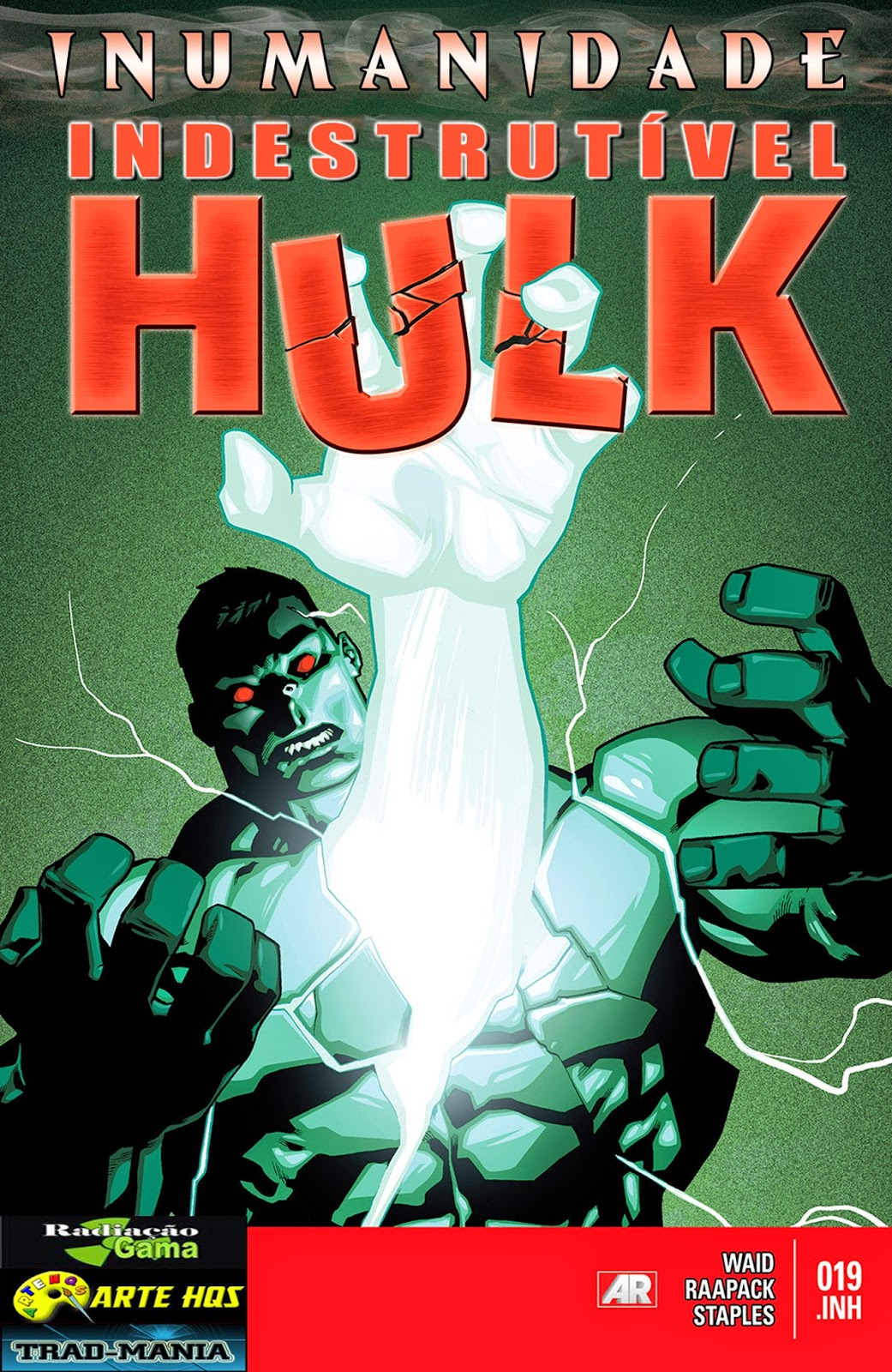 Nova Marvel! O Indestrutível Hulk #19