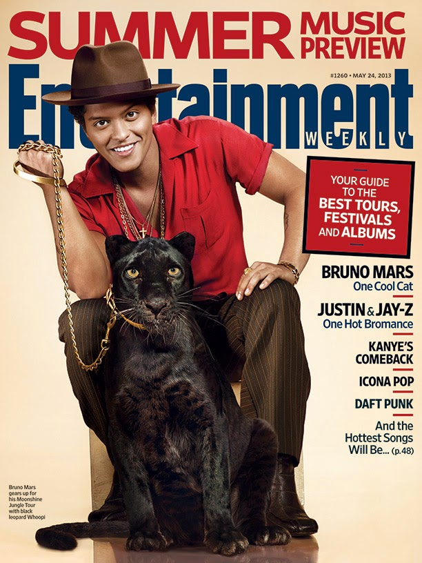 Entertainment Weekly Cover - Bruno Mars Official Blog