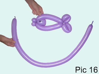 easy balloon animal instructions