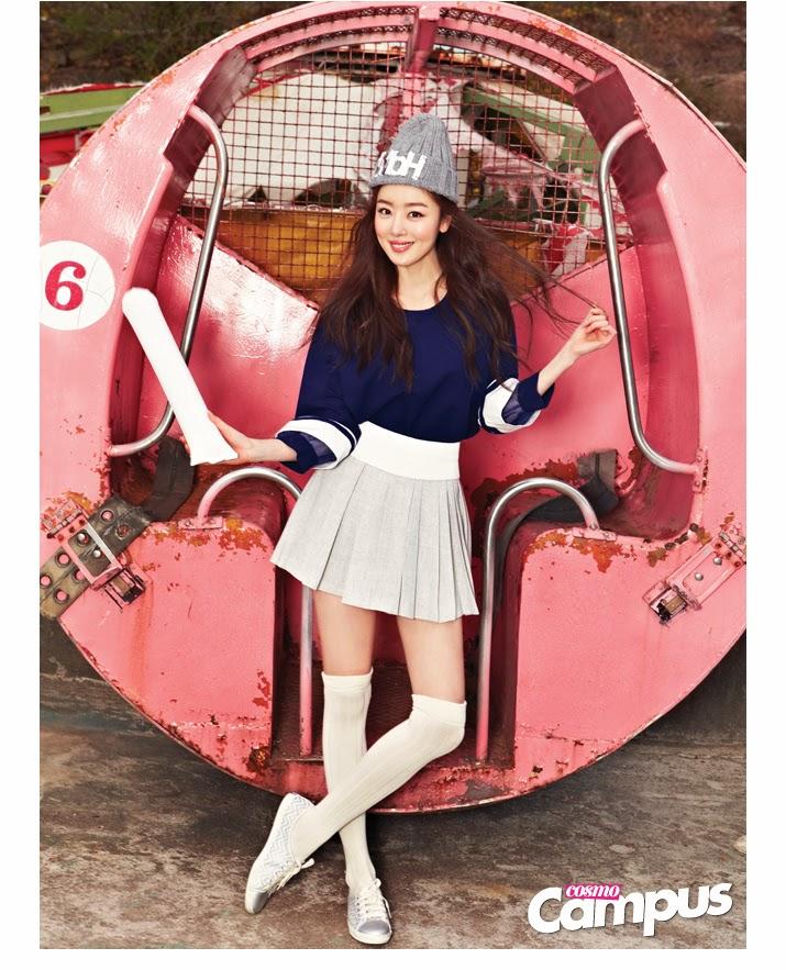 Sunhwa Secret - Cosmo Campus Magazine May Issue 2014
