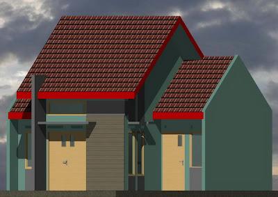 rumah sederhana minimalis rumah type 54
