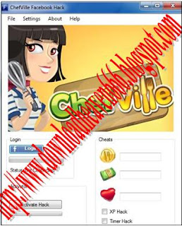 Facebook Chef Ville Hack Tool v3.14