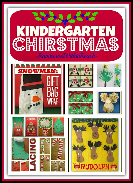 Kindergarten Christmas Projects + Gifts