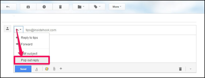 how to create a draft in gmail