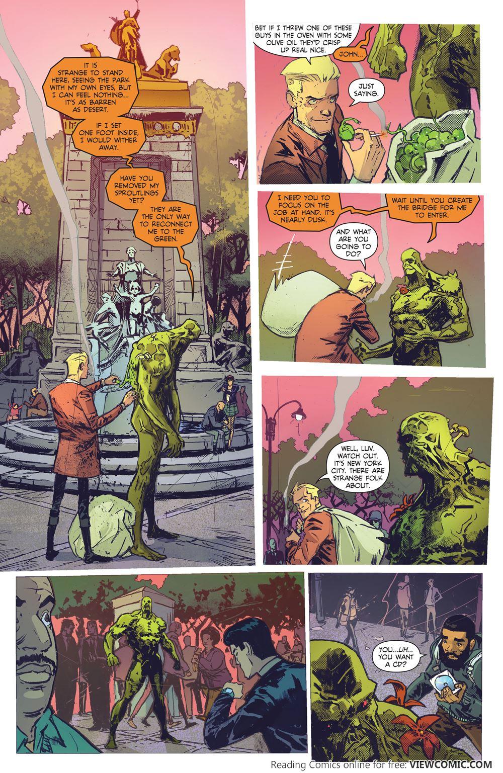 hellblazer read comic