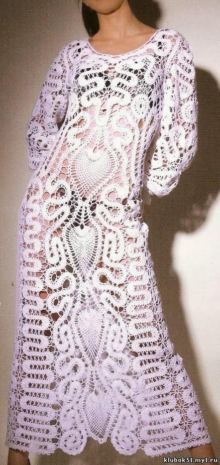 TRICO y CROCHET-madona-mía: Especial vestidos de encaje de brujas ...