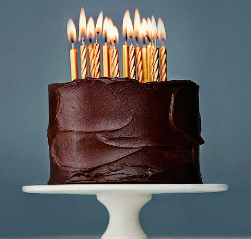 Baño De Chocolate Sencillo Para Torta:Diez sencillas y originales ideas para decorar tus tartas y pasteles