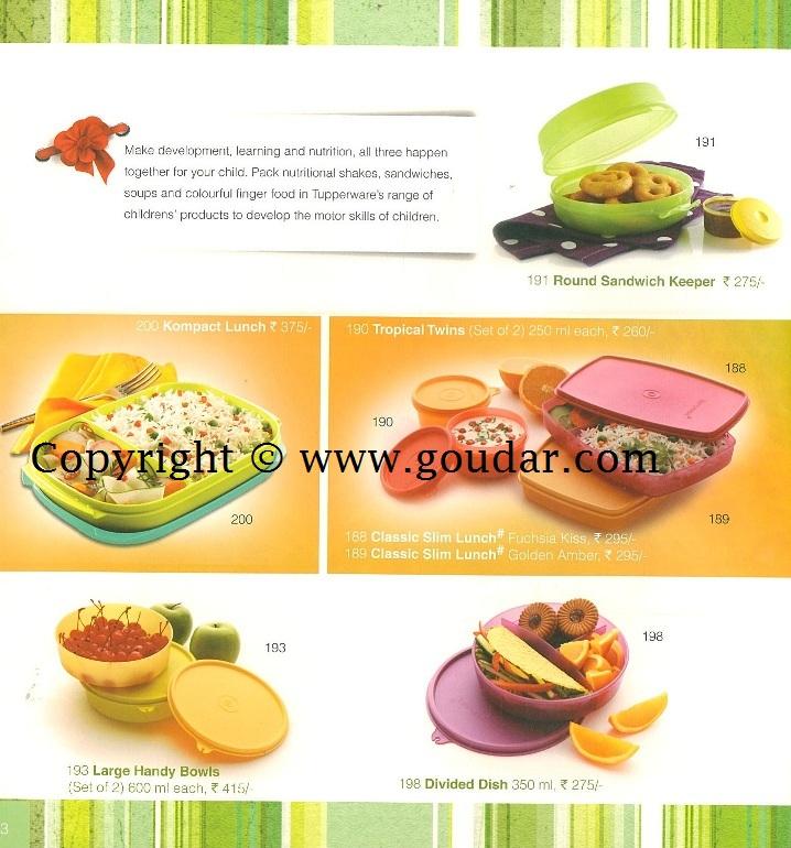 mahiti - Tupperware ..: Tupperware India Catalogue September 2012