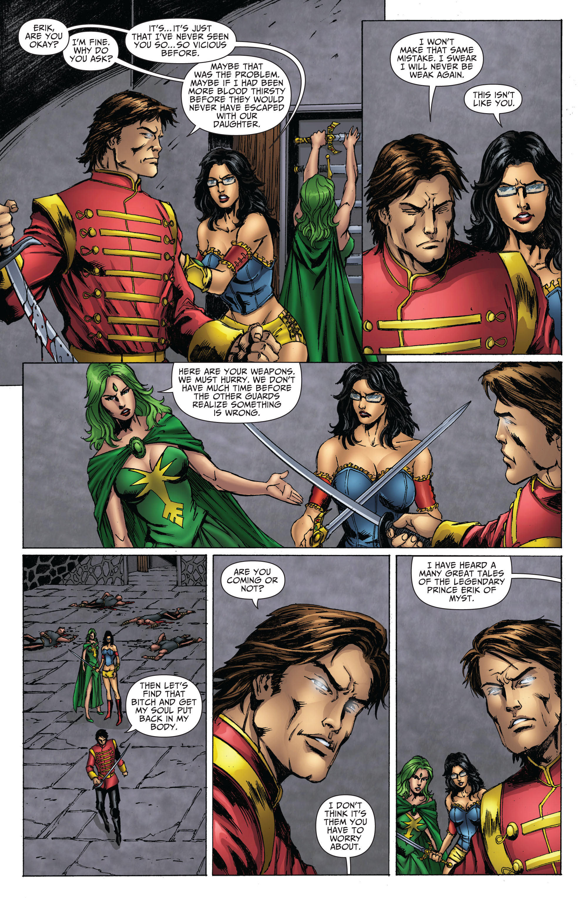 Grimm Fairy Tales (2005) Issue #70 #73 - English 12