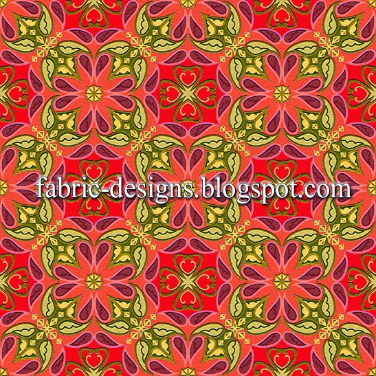 geometric patterns for textile printing 5