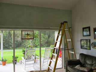 updating condo dining room with paint