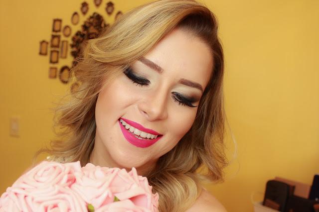 tutorial maquiagem esfumada para noiva