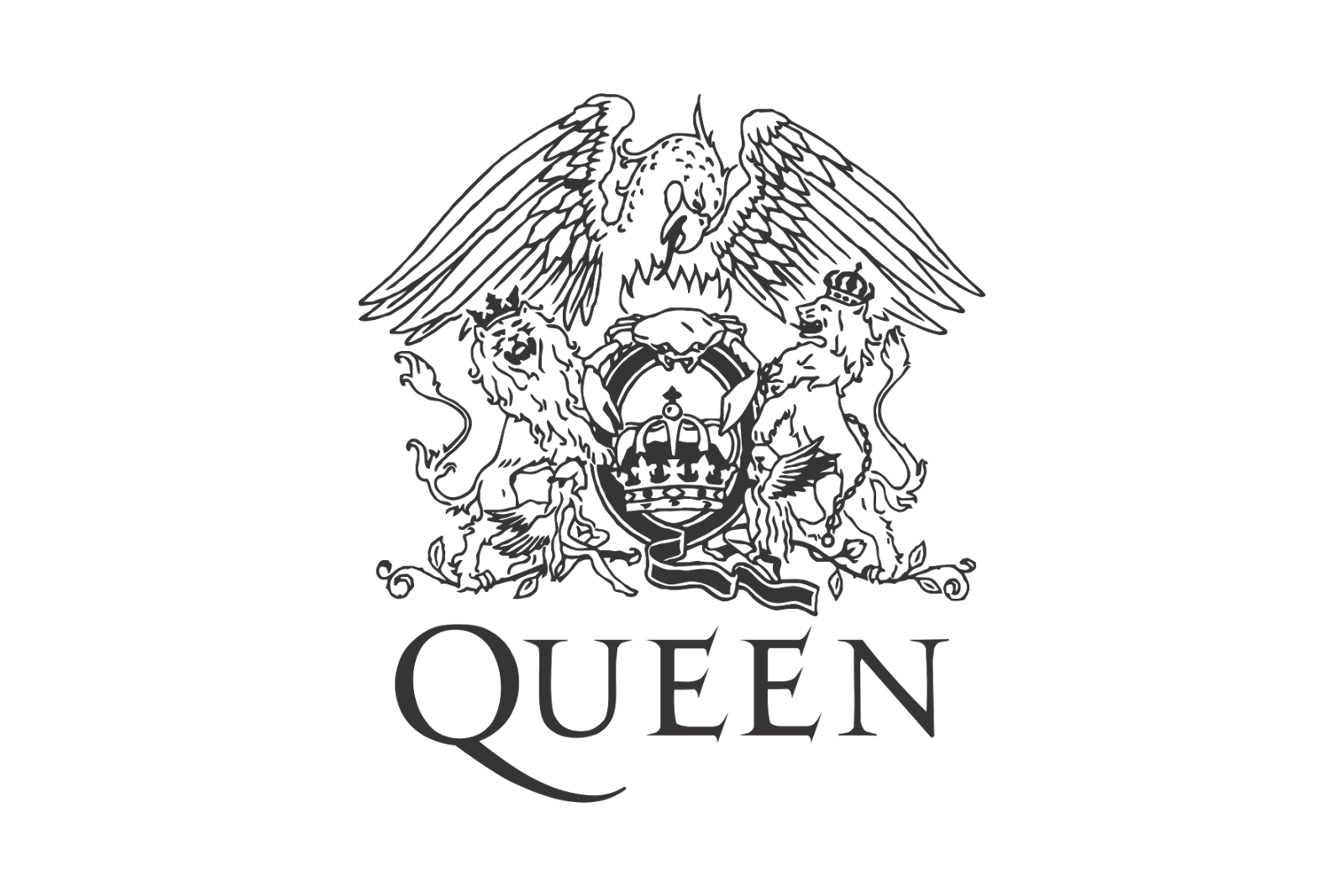 Queen, The future and The o'jays on Pinterest Queen Band Logo Png
