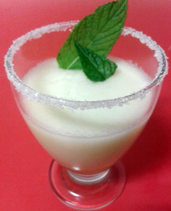 Dulce Diabetico: Sorbete de melon