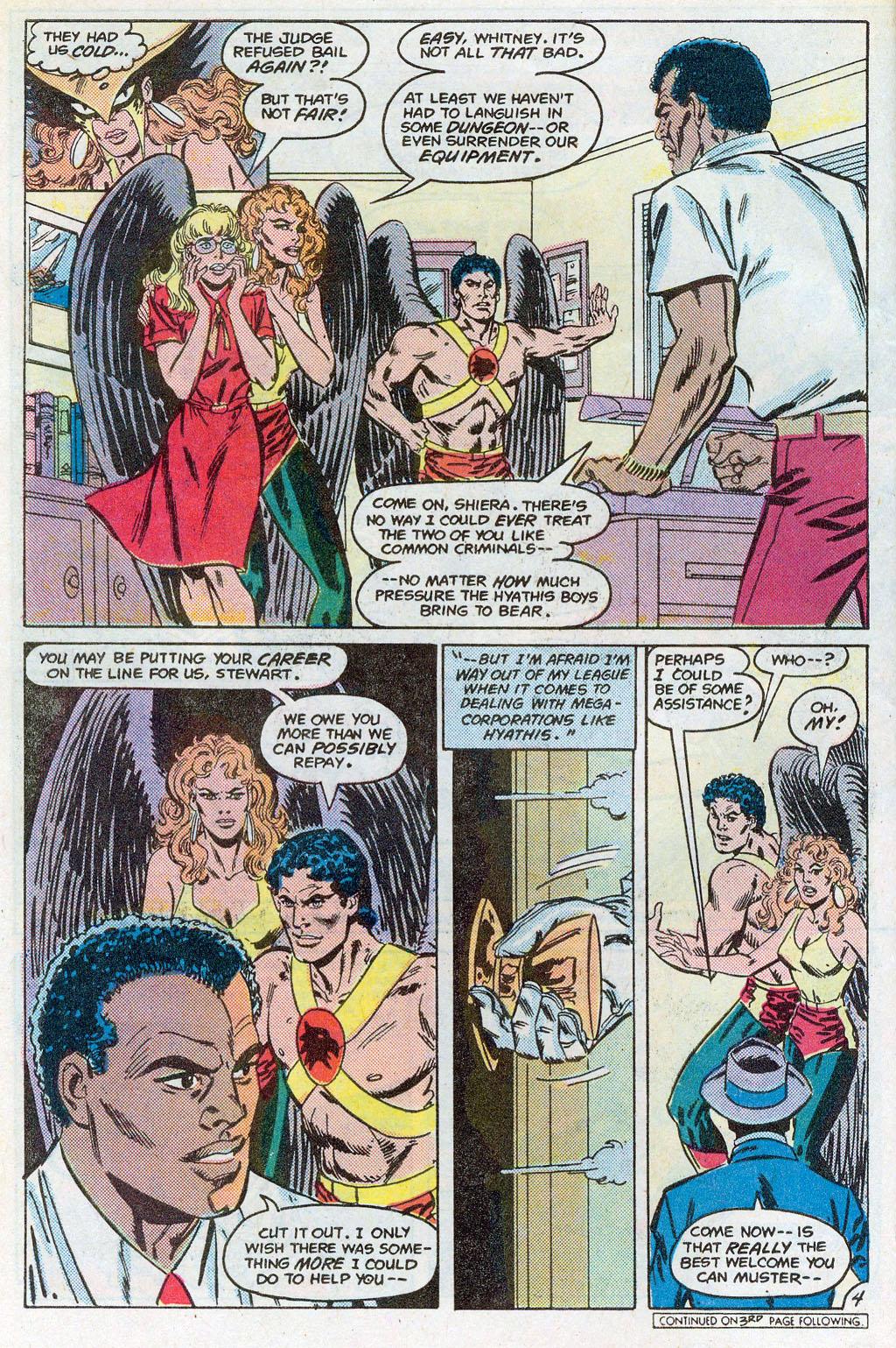 Hawkman (1986) Issue #3 #3 - English 7
