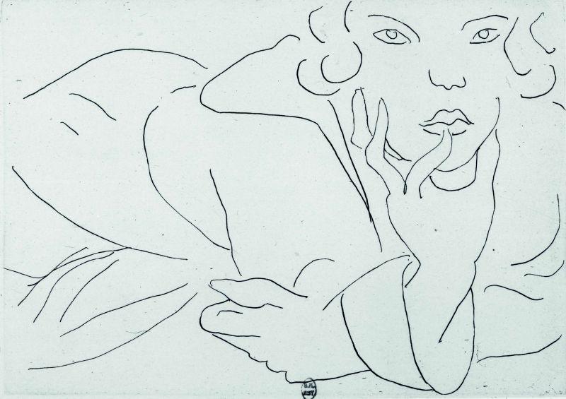 Matisse Contour Line Drawing : Art splash henri matisse drawing life gallery of