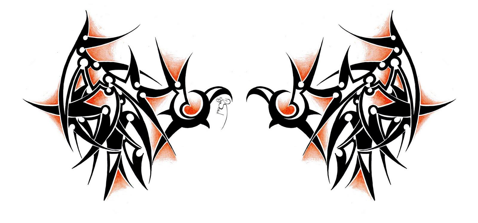 tatouage aile ange et demon - Tatouages et motifs de anges passionnés
