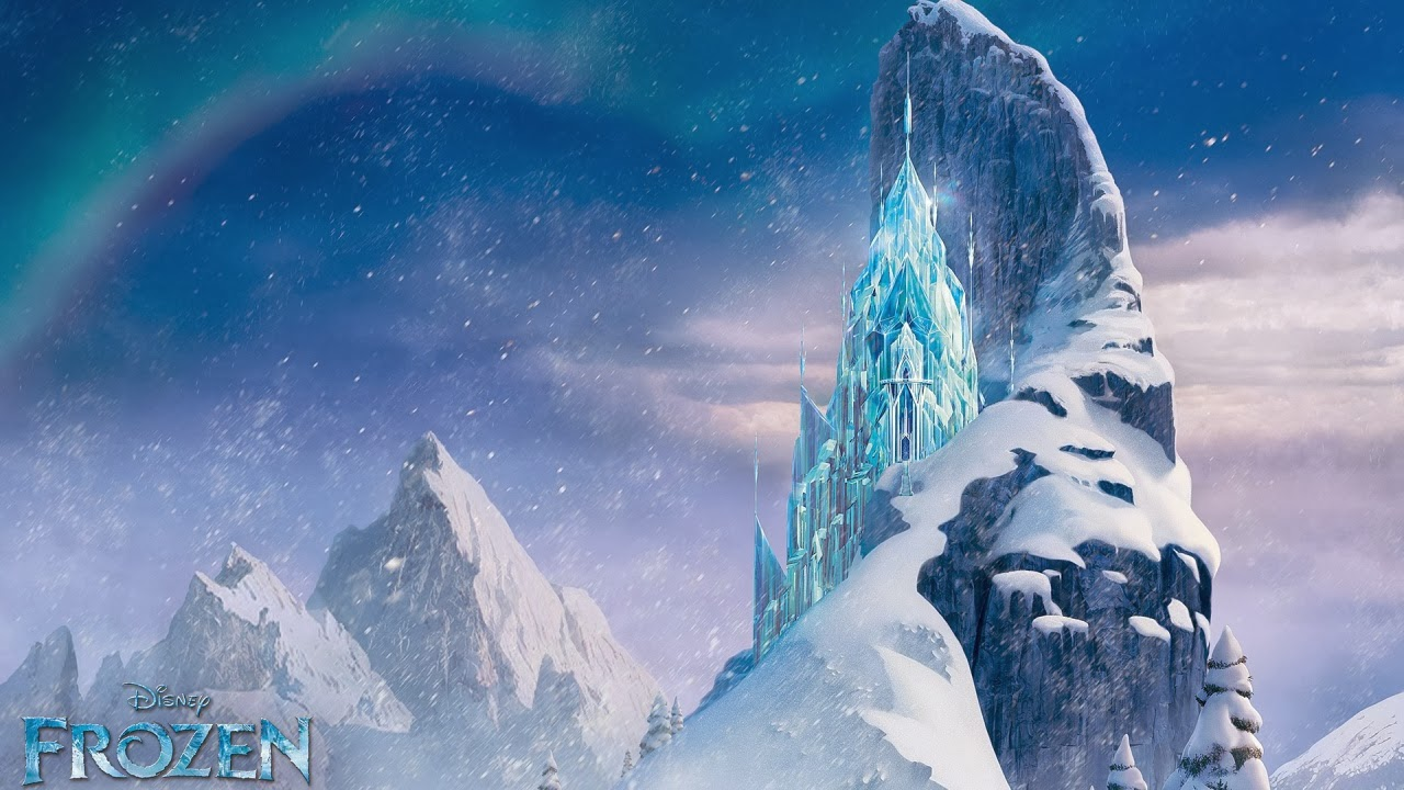 Icecastle in Frozen Wallpapers