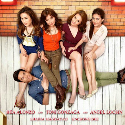 starring Bea Alonzo, Toni Gonzaga, Angel Locsin, and Shaina Magdayao