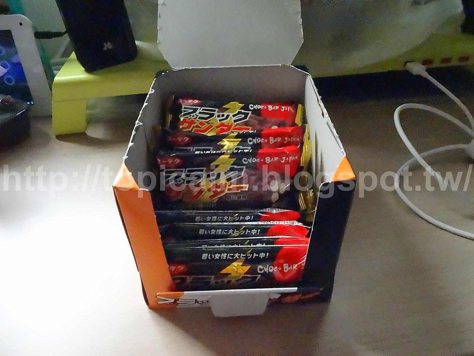 黑雷神巧克力(ブラックサンダーblack thunder)