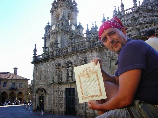 Carlos Olmos - Camino de Santiago
