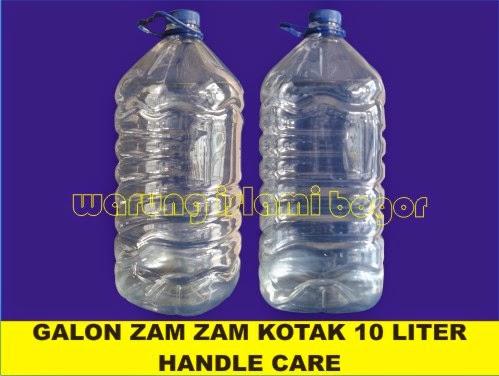 Jual Jerigen Plastik Kemasan Air Zam Zam 10 Liter