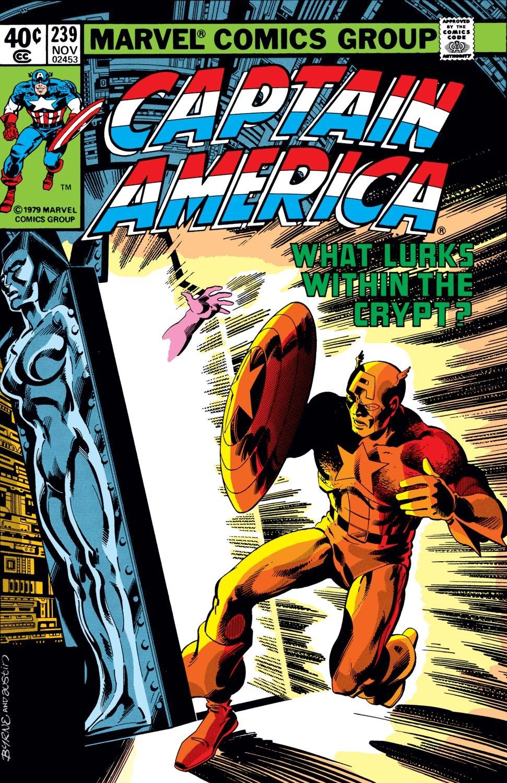 Captain America (1968) Issue #239 #154 - English 1