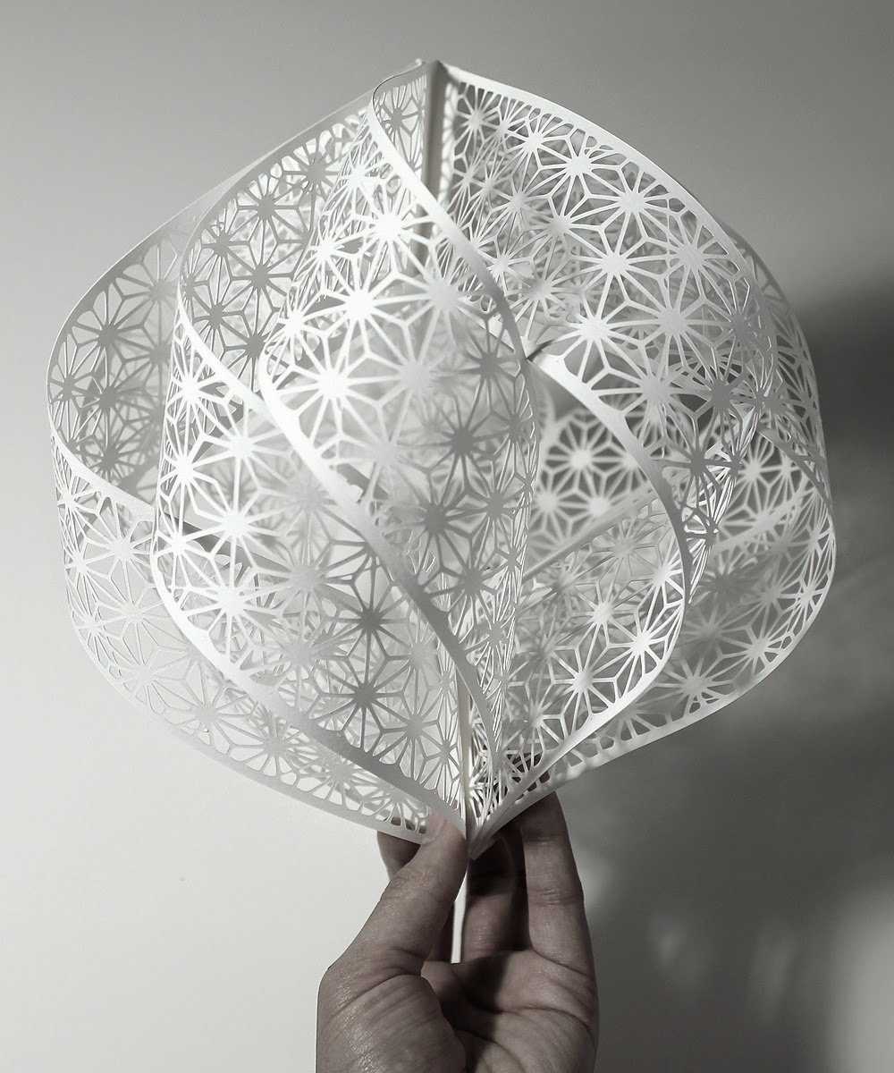 Simply creative papercut sculptures by christine kim