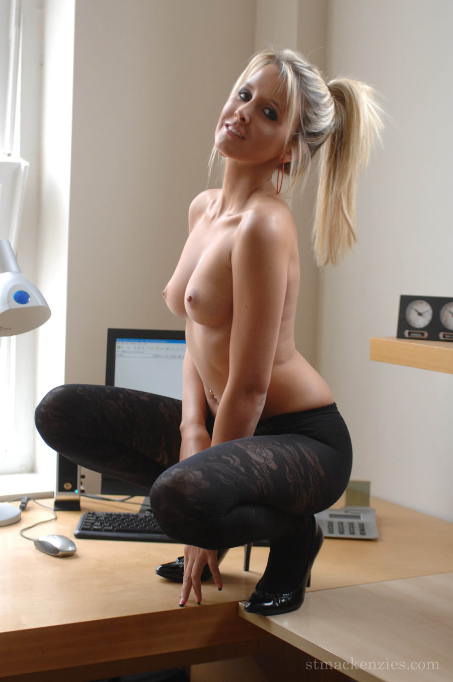 Amateur office girls