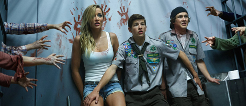 Scouts Guide to the Zombie Apocalypse Movie Trailer, Clips, Images and Poster