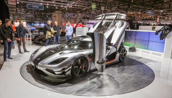 Koenigsegg: One - Salón de Ginebra