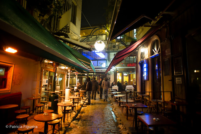 Restaurantes and cafés everywhere in Taksim