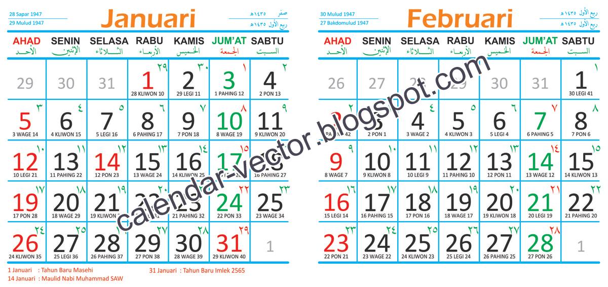 Kalender Jawa 2014