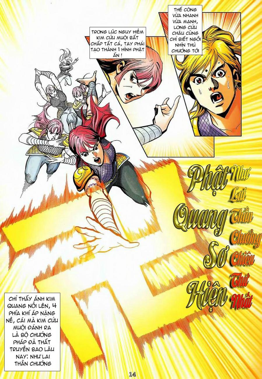 Thần Chưởng Long Cửu Châu chap 8 - Trang 14