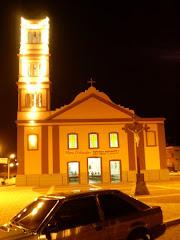 Igreja Matriz a Noite.