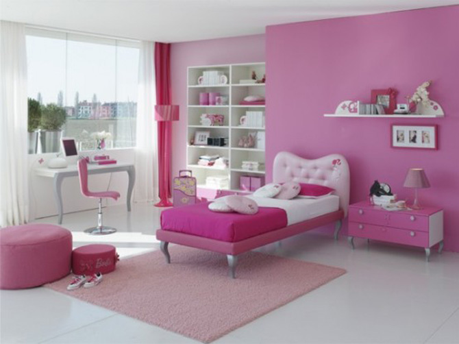 Chambre A Coucher Fille Rose – Paihhi.com