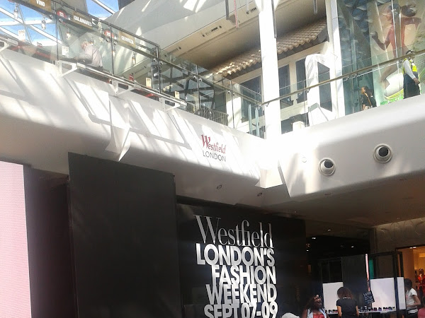 Throwback Thursday: Westfield's London Fashion Weekend 2012