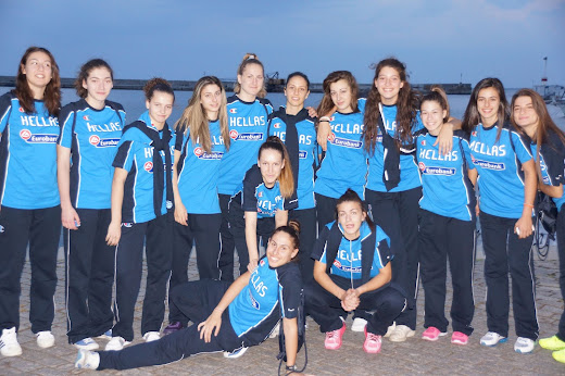 """Οι κοπέλες της ΕΣΚΑΝΑ """"καθάρισαν"""" για την Εθνική κορασίδων στην Βουλγαρία (63-52)"""