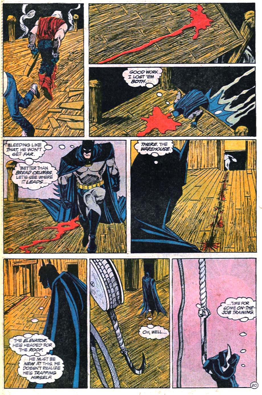 Detective Comics (1937) Issue #598 Page 21
