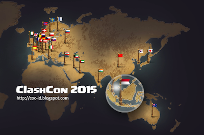 WOW !!! Indonesia Masuk dalam 30+ Negara yang akan menghadiri ClashCon 2015