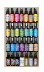 New Tim Holtz Distress Stain Sprays