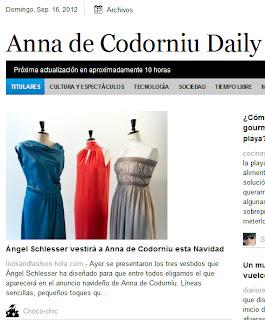 Anna de Codorniú Dialy y Choco-chic
