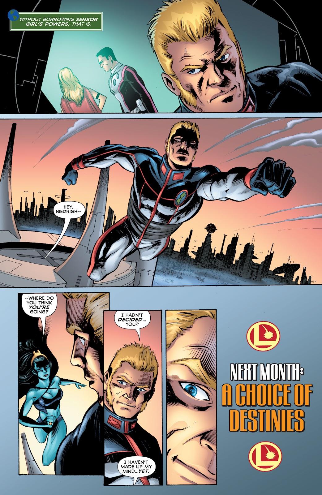 Legion of Super-Heroes (2010) Issue #4 #5 - English 32