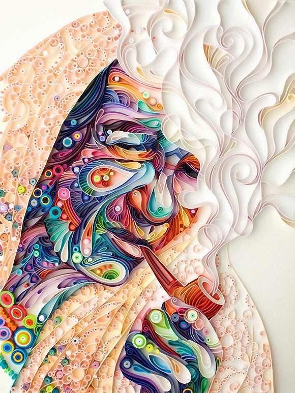 Karya Seni Paper Art Yulia Brodskaya