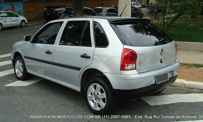 VW Gol Trend 1.0 Flex 2008 4 Portas - traseira