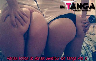 Varias Fotos de Nenas Amateur en Tanga Vol. 3