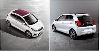 La nouvelle citadine #Peugeot108 se dévoile