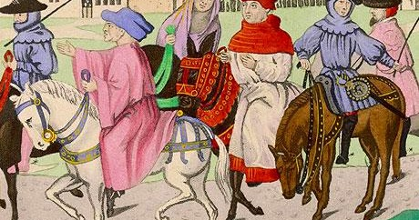 """a sense of humor in the stories in the canterbury tales a novel by geoffrey chaucer #43 a review of the canterbury tales (graphic novel) (graphic novel) by geoffrey chaucer and seymour chwast """" follow reflections of a book addict on."""