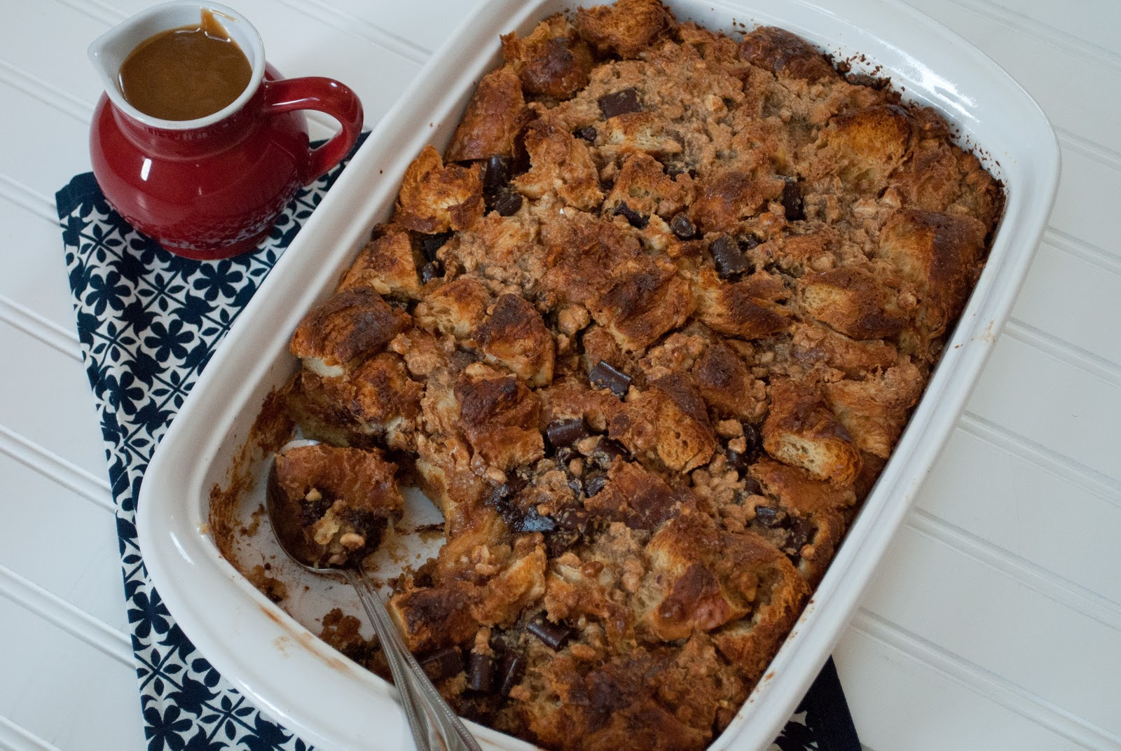 Ryan Bakes: Peanut Butter Chocolate Bread Pudding
